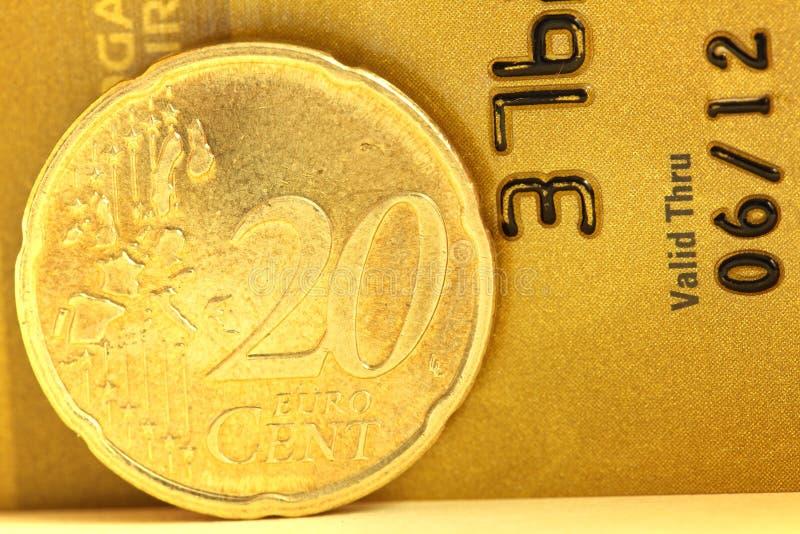 20 centów euro obrazy stock