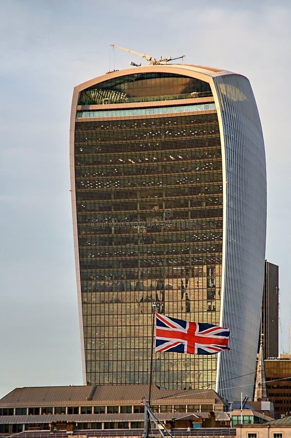 Free 20 Fenchurch Street Walkie-Talkie Building - London, UK Stock Photos - 104690803