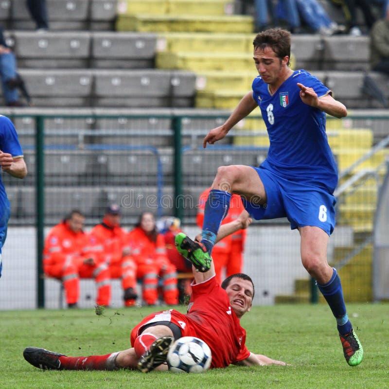 20 Fifa Italy Switzerland vs zdjęcia royalty free