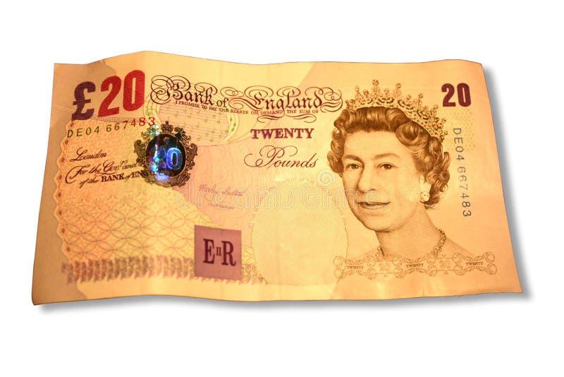 20 pund royaltyfri foto