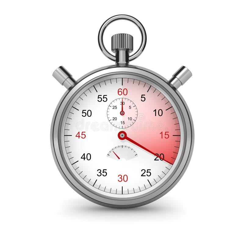 Download 20 seconds stock illustration. Image of render, second - 15556454