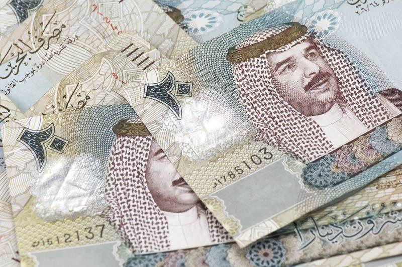 20 von Bahrein Dinar-Anmerkungen lizenzfreie stockbilder