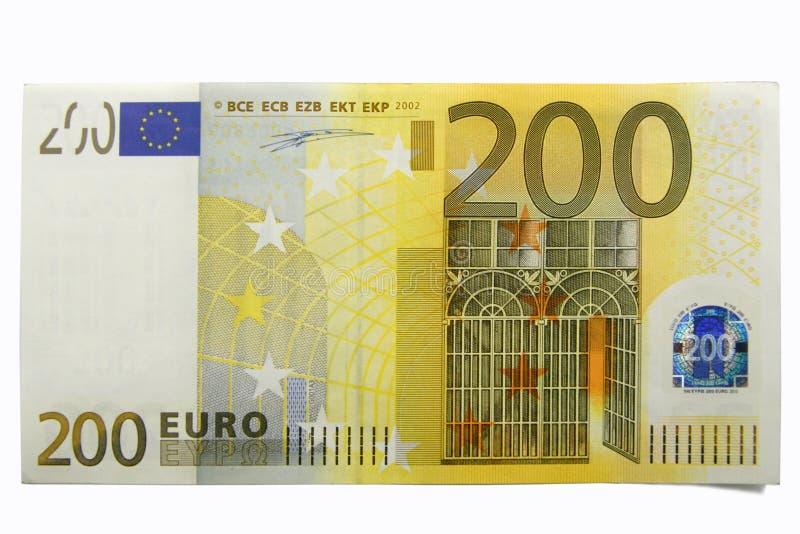 200 euro zweihundert stockfoto bild von schecks. Black Bedroom Furniture Sets. Home Design Ideas