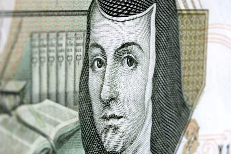 200 meksykańskich banknotów pesos obraz royalty free
