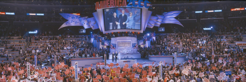 2000 convenções nacionais Democratic foto de stock