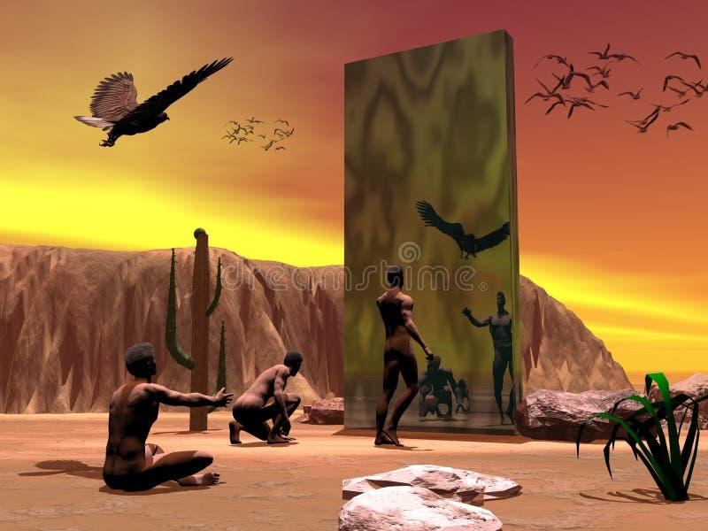2001, un odysea del espacio. libre illustration