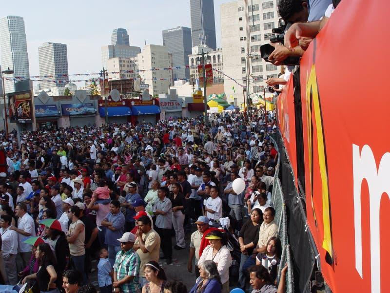 2005年安赫莱斯・ broadway加州节日los 免版税库存照片