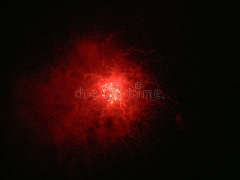 2005 firework3 Lipowie 4. fotografia royalty free