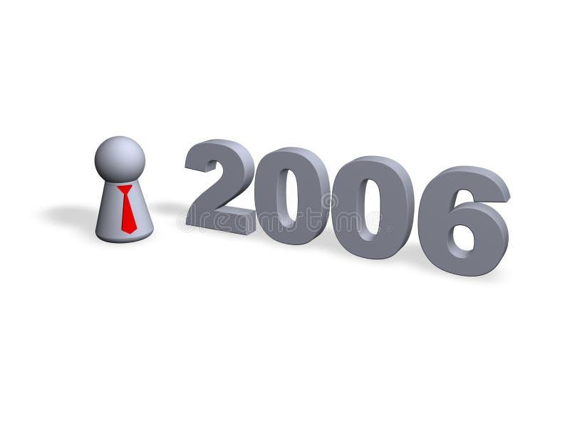 2006 ilustração stock
