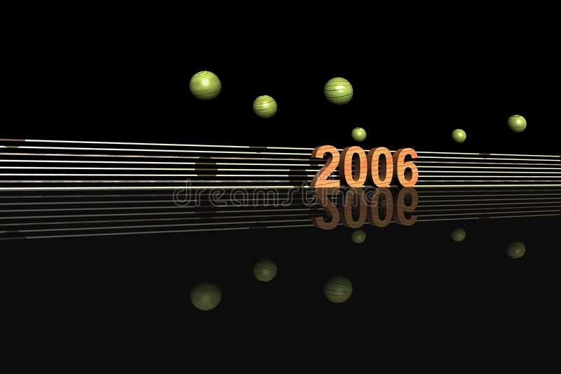 2006 royaltyfri illustrationer