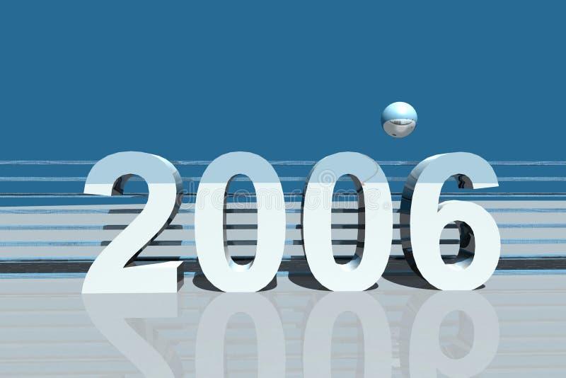 2006 ilustracja wektor