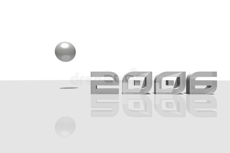 2006 vektor illustrationer