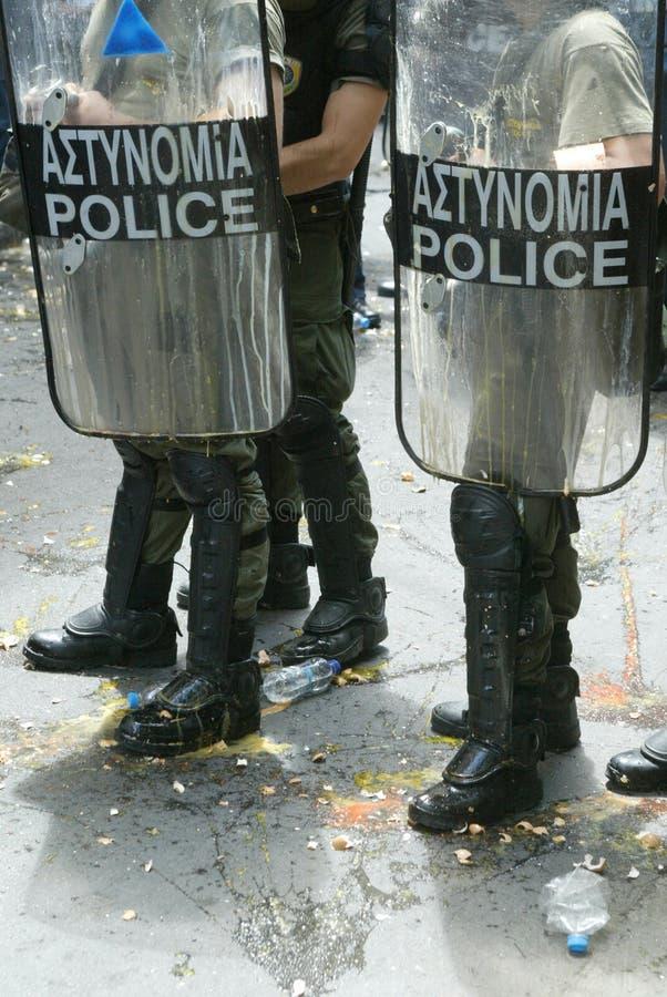 2006 Athens zlotni zamieszek ucznie fotografia stock