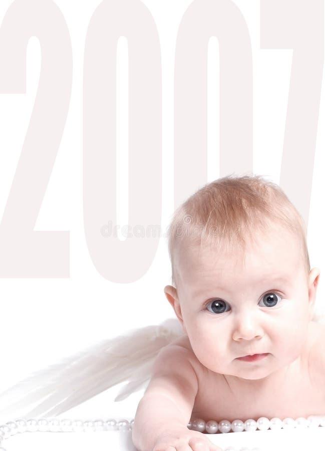 2007年天使 库存图片
