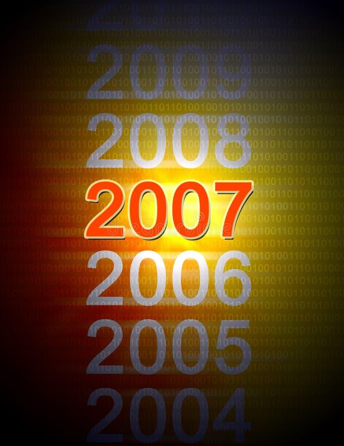 2007年 库存例证
