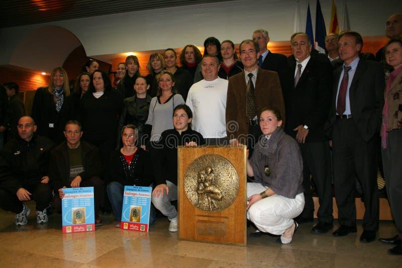 2007 2008 mistrzów France rugby s obrazy stock