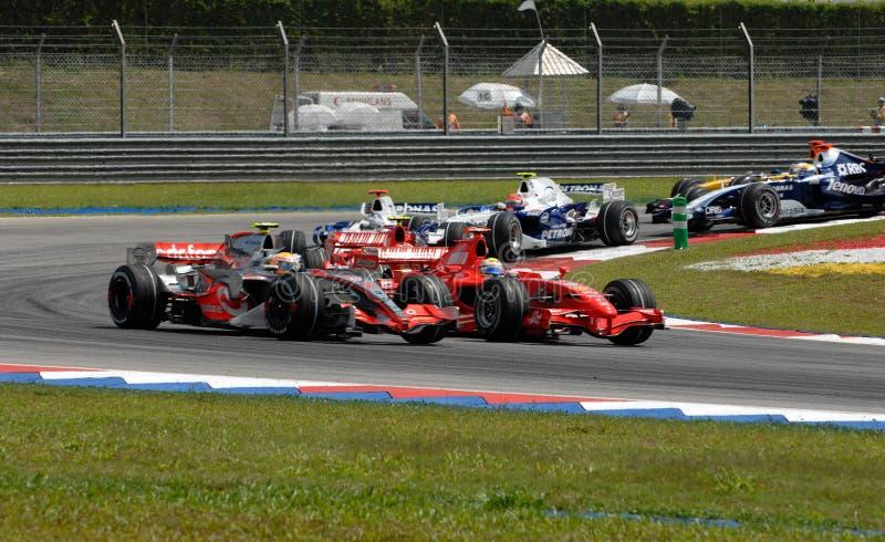 2007 f2007 Malaysia Sepang f 1 obraz stock