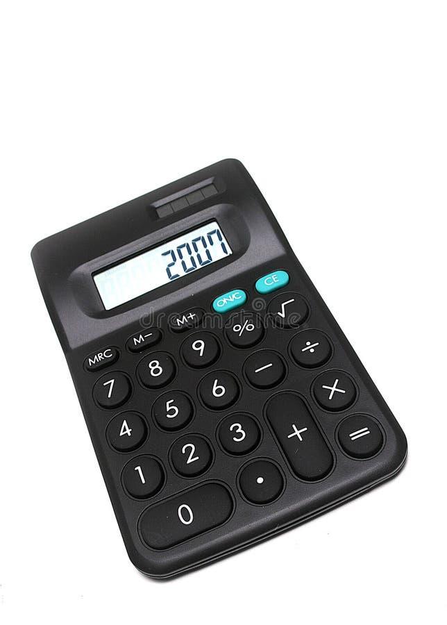 2007 kalkulator obrazy stock