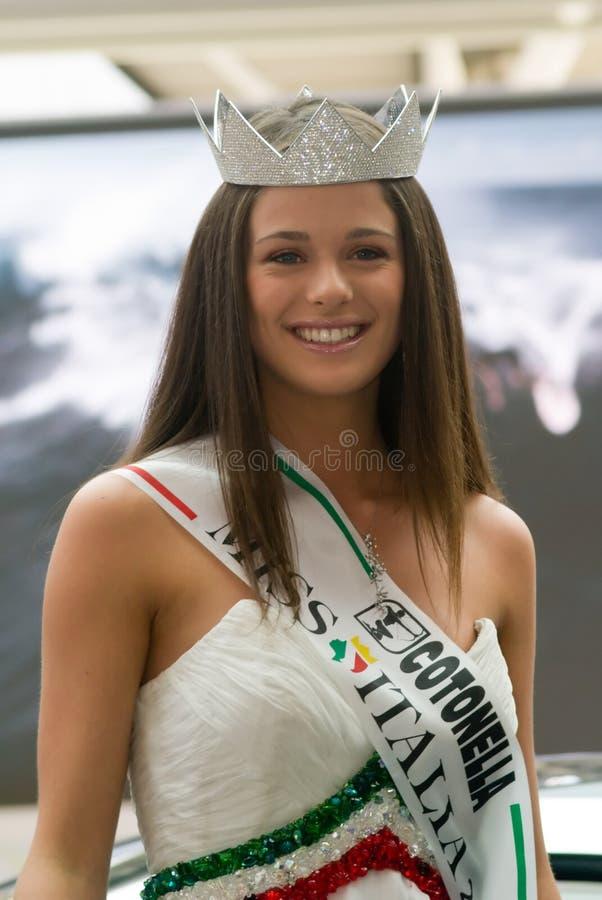 2007 panno Włochy zdjęcie royalty free