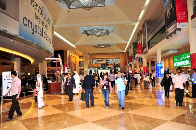 2008个入口gitex大厅 图库摄影