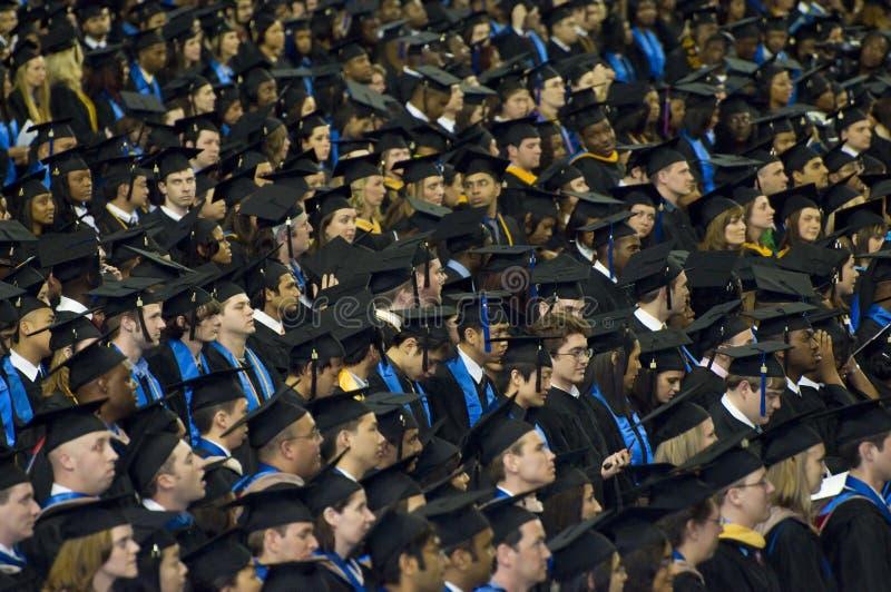 2008年仪式佐治亚毕业州立大学 图库摄影