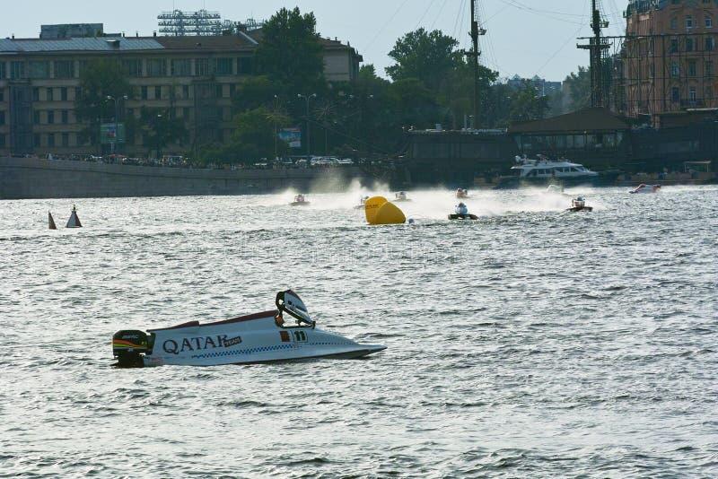 2008年冠军f1我m快速汽艇u世界 免版税库存图片