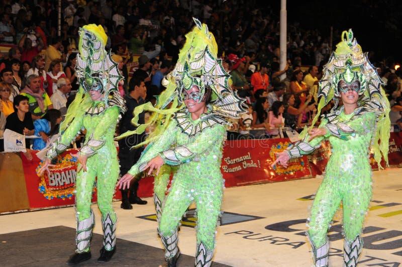 2008年狂欢节 免版税库存图片