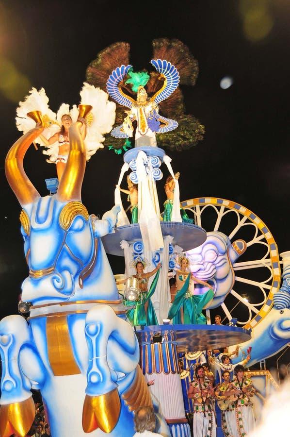 2008年狂欢节gualeguaychu 免版税库存图片