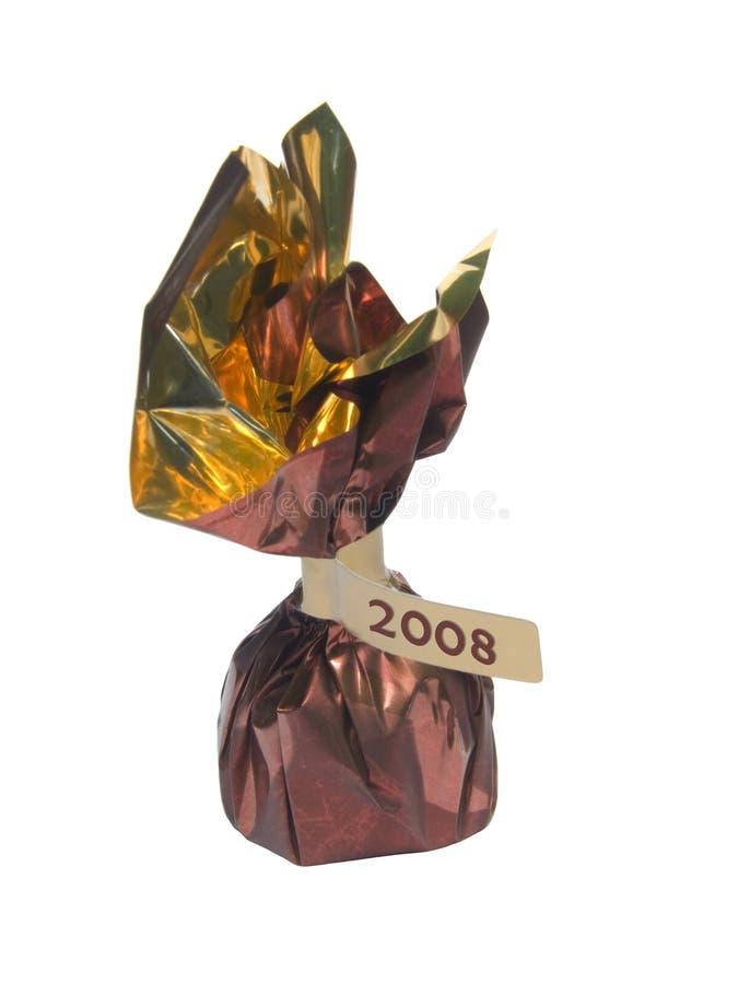 2008年被标记的糖果 免版税库存照片