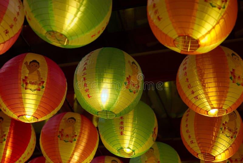 2008 освещают вверх vesak стоковые фотографии rf