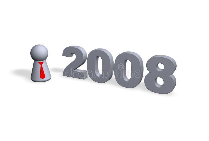 2008 illustrazione di stock