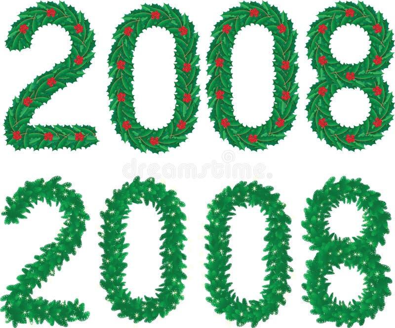 2008 royalty illustrazione gratis