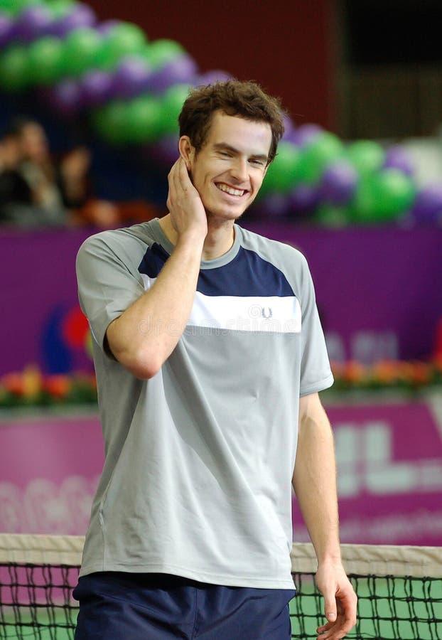 2008 Andy Murray otwarty spb zwycięzca obraz stock