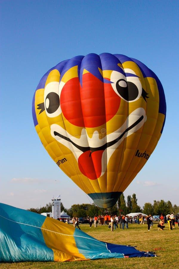 2008 balonów lotniczych Ferrara festiwal gorąco zdjęcie stock