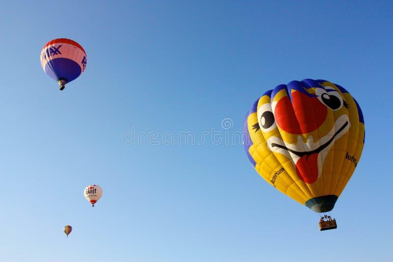 2008 balonów lotniczych Ferrara festiwal gorąco fotografia stock
