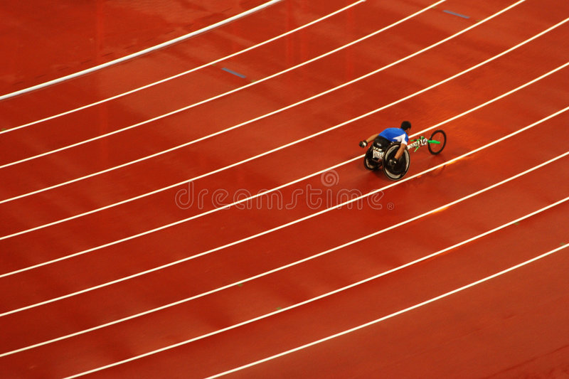 2008 Beijing gry paralympic obrazy royalty free