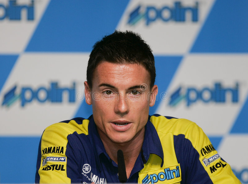 2008 Briten James Toseland lizenzfreie stockfotos