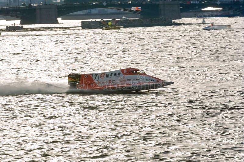 2008 championnat du monde de hors-bord d'U.I.M.F1 photos stock