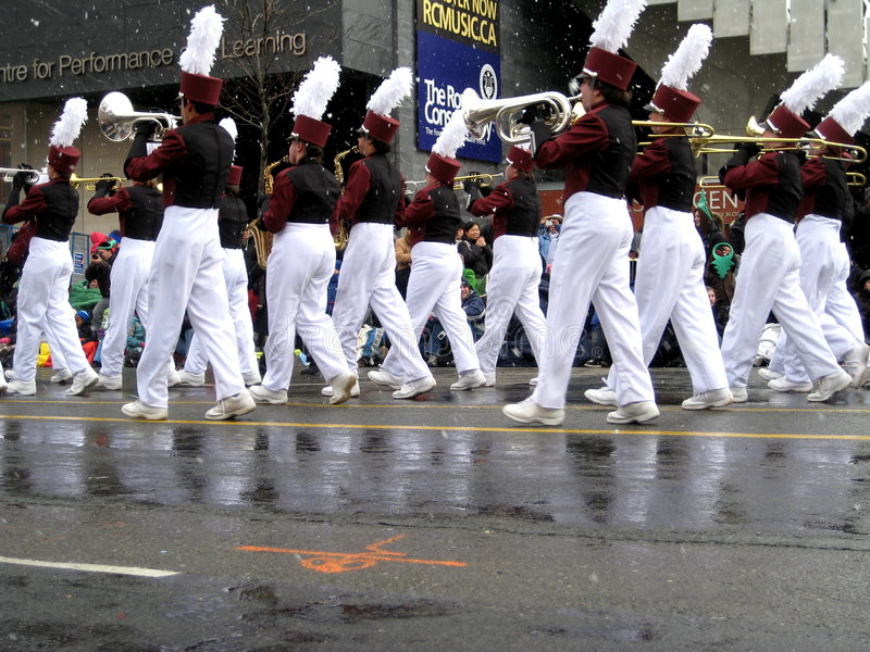 2008 Claus parada Santa Toronto obraz royalty free