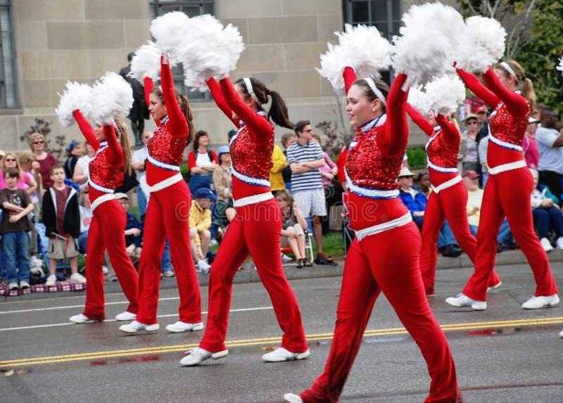2008 de Nationale Parade van de Bloesem van de Kers. stock fotografie
