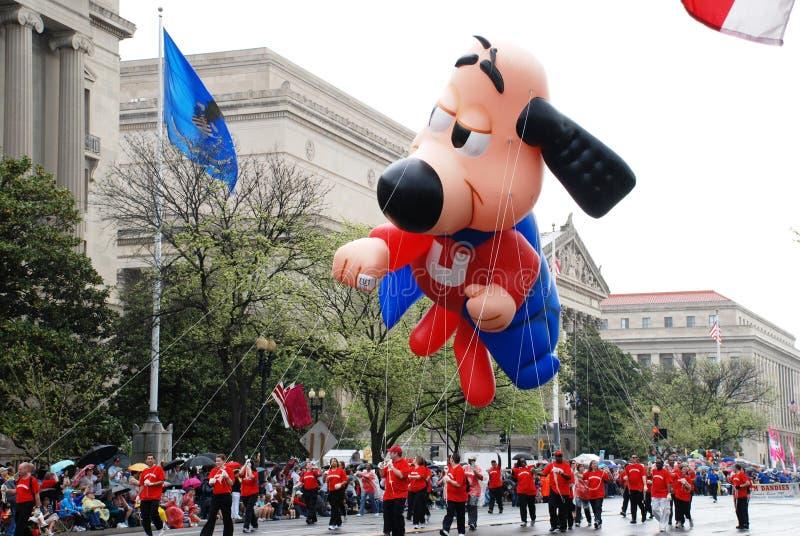 2008 de Nationale Parade van de Bloesem van de Kers. stock afbeeldingen