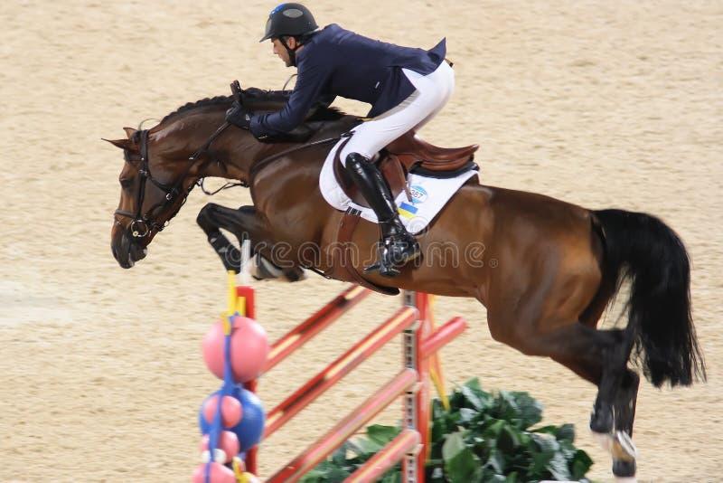 2008 Equestrian olímpico G imagen de archivo