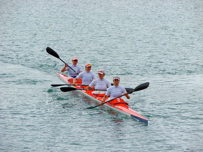 2008 Flatwater European Championships stock photo