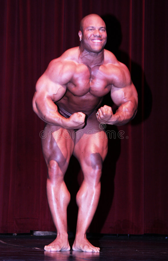 Free 2008 Ironman Pro Phil Heath Front Stock Images - 5286464