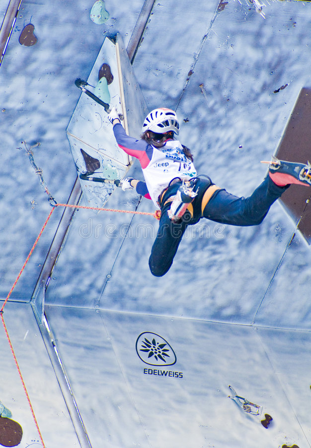 2008 lodu pięcia busteni mistrzostw świata zdjęcia stock
