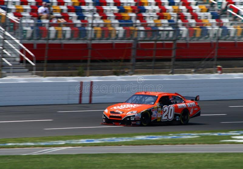 2008 NASCAR - Pratiques en matière de Stewart photos libres de droits
