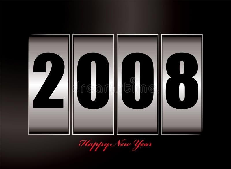2008 new year vector illustration