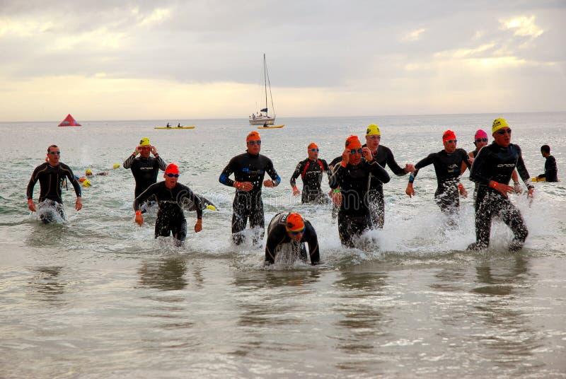 2008 południa ironman triathlon Afryce zdjęcie royalty free
