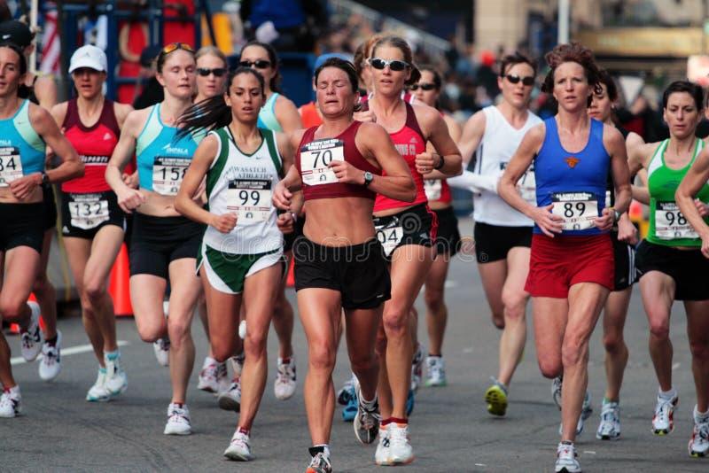 2008 US Women's Olympic Marathon Trials, Boston royalty free stock photo