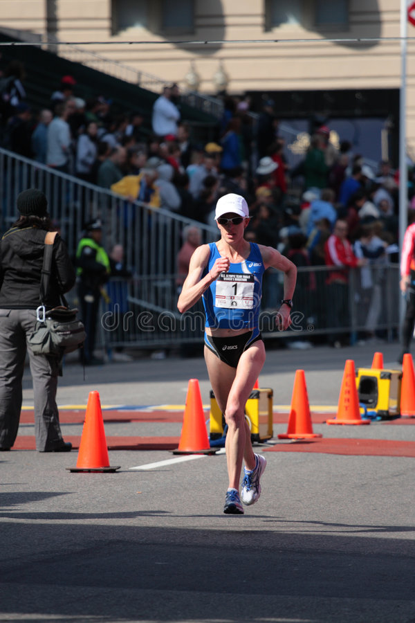 Download 2008 US Women's Olympic Marathon Trials, Boston Editorial Photo - Image: 4952411